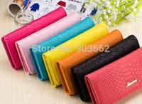 Women wallet clutch PU Leather  Wallets Case Purse Long Hand Bags freeshipping
