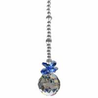 1 Chandelier Glass Crystals Lamp Prisms Parts Hanging Feng Shui Pendants 30mm