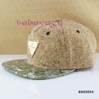 Free Shipping Fashion Short Brim Baseball Cap Snakeskin Hip Hop Casquette Hat