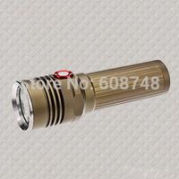 new 1200LM CREE XM-L T6 LED Flashlight Torch Lamp Waterproof Free shipping
