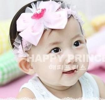 A nova faixa de cabelo atacado lindas flores do cabelo do bebê infantil lace fabricantes de pneus que vendem produtos de comércio exterior(China (Mainland))