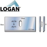 Logan 270 Blades Pack of 100,Quality,Mountcutter Blades, Mountcutter spares & Accessories, Cutters for paper,Board & Canvas