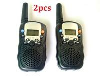 T-388 mini handheld Walkie Talkie UHF  Interphone 8 CHANNEL Transceiver Two-Way Radio Mobile Portable Intercom