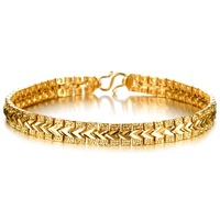 2014 Newest gift 18k gold plated bracelet bangle for women N396