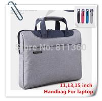"Newest Nylon Handbag  For Laptop, Messenger For Macbook, Notebook 11"",13"",14"",15"", Protecter Soft Bag Sleeve Case,Free Shipping"