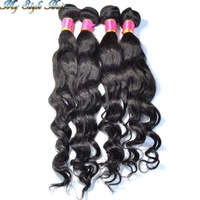 Brazilian Virgin Hair Wavy Weave 4 Bundles Body Loose Wave,100% Unprocessed Human Hair 4pcs lot,Rosa Mocha Queen Hair Products