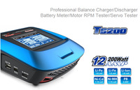 SKYRC T6200 Fast Charger,Professional Balance Charger/Discharger,Battery Meter/Motor RPM Tester/Servo Tester