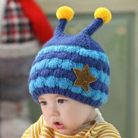 kids hats winter earflap baby hats winter warm fur hats flower printed leifeng hats children fashion