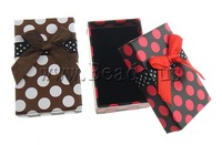 Free shipping!!!Cardboard Jewelry Set Box,Whole sale, Rectangle, mixed colors, 50x79x26mm, 72PCs/Bag, Sold By Bag