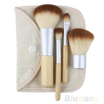 2014 5 шт. / комплект горячая распродажа новые бамбуковые щетки макияж кисти инструменты ...