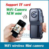 MD99S model WiFi camera Mini DV Wireless IP Camera Hidden camcorder Video Record wifi hd pocket-size mini camera free shipping