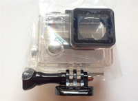 FOB Gopro new edition hero3/3+ side open Skeleton housing with lens
