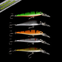 2014 Hot-selling,5colors Fishing bait 10.3CM/9.2G  Minnow fishing lures 5pcs/lot fishing tackle free shipping