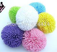 Colorful fruit colorful bath ball bath flower bath brush cute round sponge bath ball