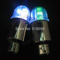 NEW BEAND!! 12PCS Bike Bicycle Car Wheel Tire Valve Cap Flash LED Lights Lamp Muiti Color Car Decoration Flashing