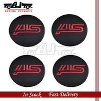 BJ-SCS-STI High Quality Wheel Center Sticker 55mm 4pcs Aluminum Subaru STI Badge