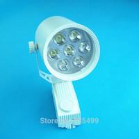 LED Track Lighting 7W LED Spotlight Reflector Lamp Free Shipping LED Energy Saving Indoor Lightings 85-265V LED Track Lights
