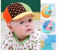 2014 New Arrive Boy  Girl Kids Cotton Beret Hat OWL Pattern Cap Prop Outfit Mlticolour