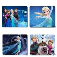 New Arrival Frozen Mouse Pads Soft Cartoon Mouse Mat 21.5*17.7cm Anna Pads Elsa Pads 4 Choices