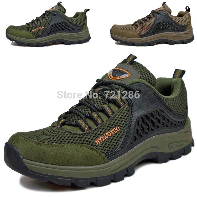 Freeshipping sapatos autênticos caminhadas ao ar livre anti -derrapante aumentou sapatos resistente sapatos de malha Casal lazer ao ar livre sapatos(China (Mainland))