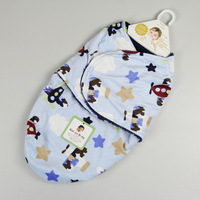 Wholesale double flannel microfiber newborn baby wrap, baby sleeping bag, newborn swaddling blankets, 14 design