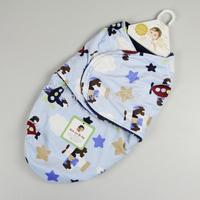Wholesale double flannel microfiber newborn baby wrap, baby sleeping bag, newborn swaddling blankets, 14 design