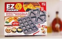 30Pcs\Ctn  Wholsale  Ez pockets pizza pan multifunctional triangle cake twinset pan,Baking Inserts,2Pcs=1Set, tv product