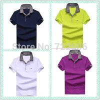 2014 new t shirt plus size men tomy men's  shirt mens la 100%cotton  t shirt  male shirt camisa xxxl camiseta