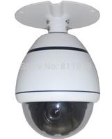 3.5inch 650tvl 10x optical  zoom high speed dome camera home surveillance cctv dome camera