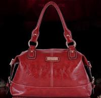2015 New Genuine Leather Women Tote Bolsas Women Leather Handbag Fashion Women Messenger Bag Crossbody Bag Vintage Shoulder Bag