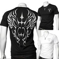 2014 a30 slim print short-sleeve T-shirt