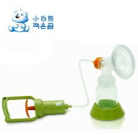 Small bear manual breast pump maternity breast pump milker hl-0613 large capacity