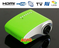 new HD Home theater Pico Projector,pocket portable MIni led projetor 200 Lumens LED Lamp 20000hrs life
