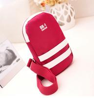 2014 hot selling women handbags chest pack women bag fashion free shipping nylon female bag