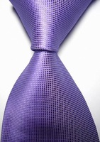 Min.order is $20 (mix order) in my shop New Solid Violet Lavender Checked JACQUARD WOVEN Men's Tie Necktie
