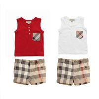 New, retails ,Free Shipping,T shirt+pants, girls clothes, boys clothes set,  1set/lot--JYS817