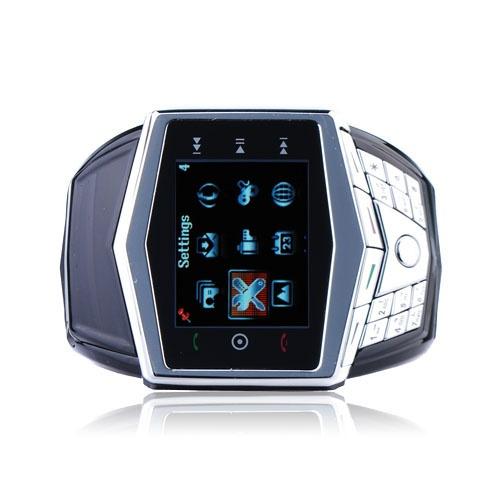 Ultra Thin Quad Band Bluetooth MP3 MP4 Wrist Watch with Keypad Cell Phone GD910(China (Mainland))