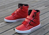 Justin bieber high help shoes fashion sneakers England street dancing shoes and men's shoes 39-44