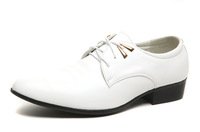 new 2014 Pointed Men's Leather Oxfords Fashion Wedding Shoes for men High Quality Formal sneakers men's flats Designer RM-298
