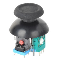 DIY Replacement 3D Joystick + Cap for PS4-Black