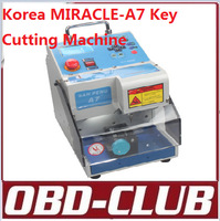 2014 Korea MIRACLE A7 Key Cutting Machine car key machine car key maker DHL Fedex Free