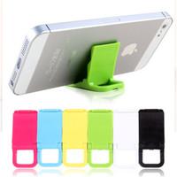 plastic holder for phone Universal mobile phone holder Mini Desk Station Plastic Stand Holder For iPod iPhone stopper  free ship