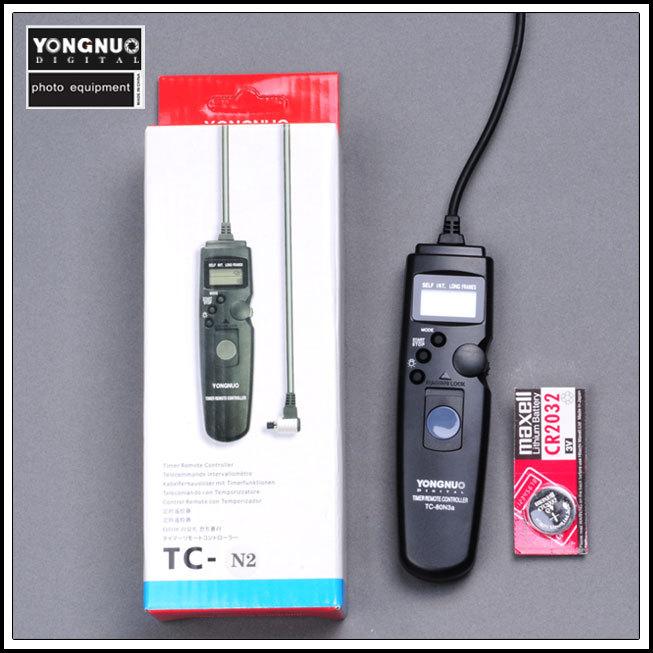 Yongnuo TC-80 C3, Yongnuo TC-80 TC80 Timer Remote Shutter Release for CANON 1D, 1DS, 5D, 5D II 50D / 40D / 30D / 20D / 10D(China (Mainland))