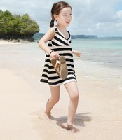 New Arrival 2014 Children Kids Girls Fashion Dress For 2-9 Years Girls Dress