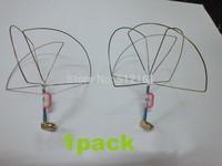 DIY parts 1.2 g FPV figure 3 leaf antenna four leaf antenna gain antenna for quadcopter/Multirotor  RC aeromodelling