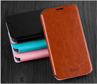 4Color,MOFI Luxury Genuine Leather Phone case for Lenovo A529,High Quality Stand Thin Flip Cover case