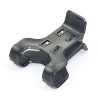 Wholesale 50pcs/Lot 4 Buckle Double Clip Mount Cradle Universal for Mobile Phone GPS Car DVR MP4 Bicycle / Car Suction Bracket