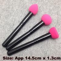 3 Pcs/Lot Cosmetic Makeup Brushes Liquid Cream Foundation Sponge Brush Cosmetic Puff + Free Shipping ( CP - S1 )