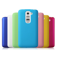 Free Shipping! Colorful Oil-coated Rubber Matte Hard Back Case for LG G2 mini D618 Frosted Protective Back Cover, LGC-044