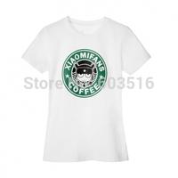 100% Xiaomi cotton Casual Unisex Adult coffee  mitu couples T-shirt